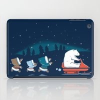 grand theft auto iPad Cases featuring Grand Theft Arctic by maudie&ma