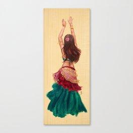 Bellydancer Canvas Print