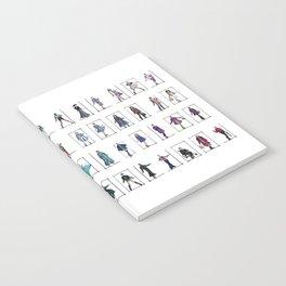 Fashion Rainbow Notebook