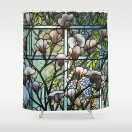 Louis Comfort Tiffany - Decorative stained glass 8. Shower Curtain