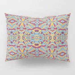 Multicolored Tribal Pattern Pillow Sham