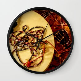 Beads and Beats Wall Clock