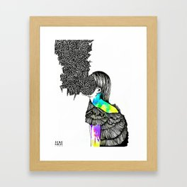 PMS Framed Art Print