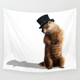 groundhog Wall Tapestry