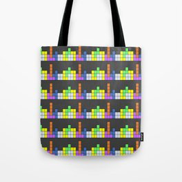 Tetris vs. Skyscape Tote Bag