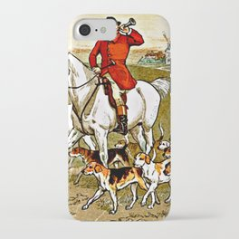 The Fox Jumped Over the Parson's Gate iPhone Case