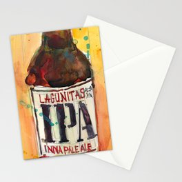IPA Beer Lagunitas  Stationery Cards