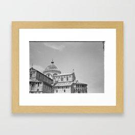 Scanned negative of Cattedrale di Pisa Framed Art Print