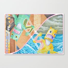 Waved Out Canvas Print