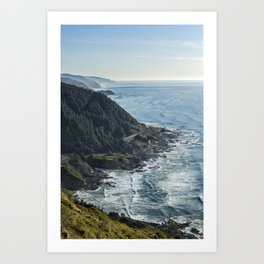 The View from Cape Perpetua Art Print