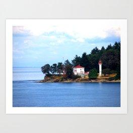 A Canadian Coast Art Print
