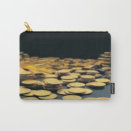 Gold Coins Carry-All Pouch