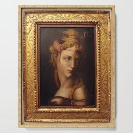 Michaelangelo's Cleopatra Serving Tray