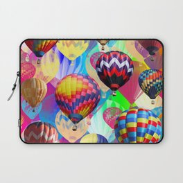 Colored Balloons. Laptop Sleeve