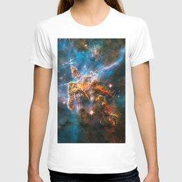 Carina Nebula, Galaxy Background, Universe Large Print, Space Wall Art Decor, Deep Space Poster T-shirt
