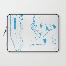 Parks - nyc vs istanbul Laptop Sleeve