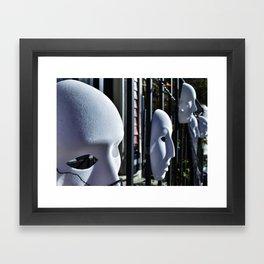 Parade of Ghosts Framed Art Print