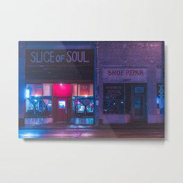 Slice - Memphis Photo Print Metal Print