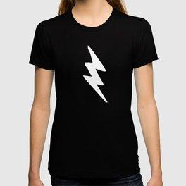 White Lightning Bolt T-shirt