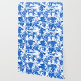 Blue Tie Dye & Batik Wallpaper