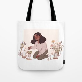 Flowers for all my rooms Tote Bag