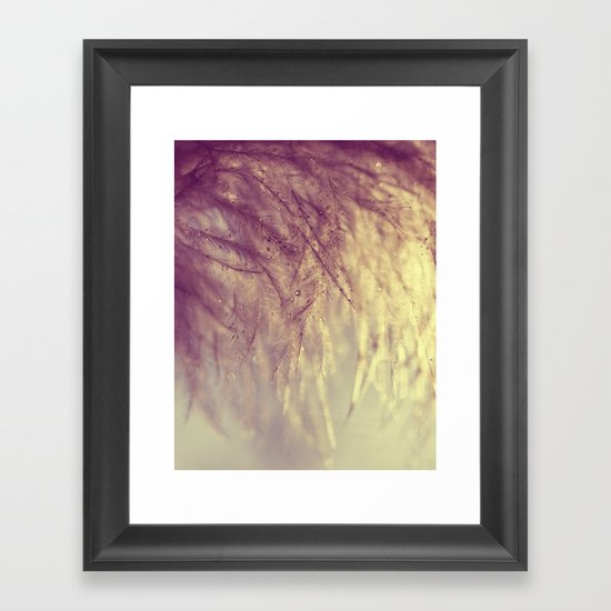 angel feathers Framed Art Print