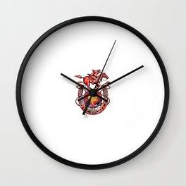 Steel Ball Run Wall Clock