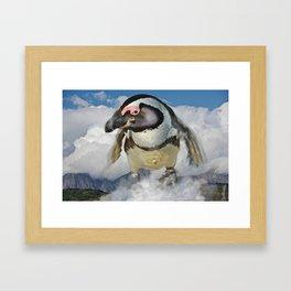 Flying Jack Framed Art Print