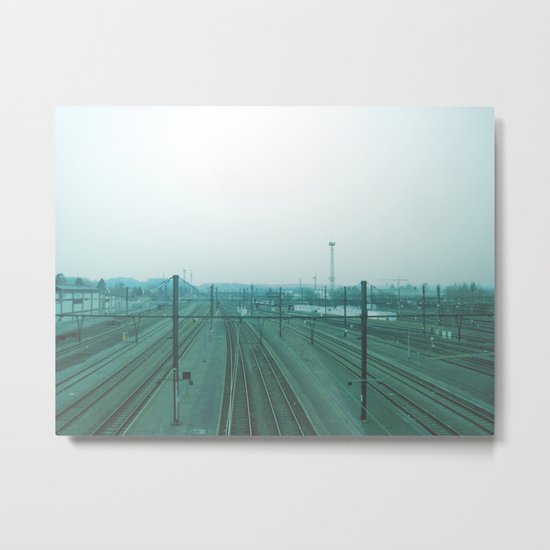 get me a train. Metal Print
