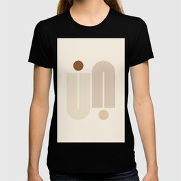 Geometric Lines in Neutral Colors 2 T-shirt