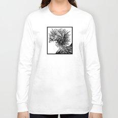 Oil Spill Mohawk Long Sleeve T-shirt