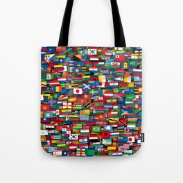 Flags of all countries of the world Tote Bag