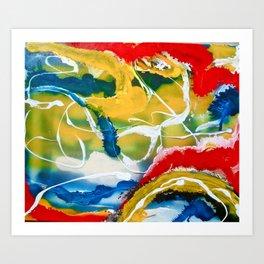 Trifecta Art Print