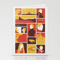 tyrion Stationery Cards featuring House Lannister by Jack Howse