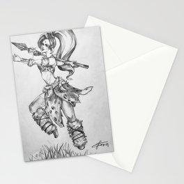 Leopard Nidalee Stationery Cards