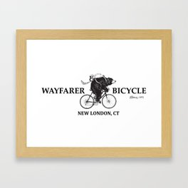Wayfarer Bicycle Since 1972 Framed Art Print