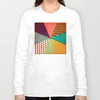 umbrella Long Sleeve T-shirts featuring Umbrella by Louise Machado