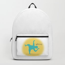 Whatever! - At least I'm doing something - Yoga Pose Done Wrong Backpack