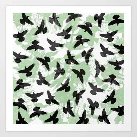 Birds / 1 Art Print