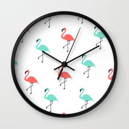 Pink & Mint Floyds Wall Clock
