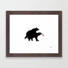 The Last Escape Framed Art Print