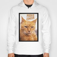 ginger Hoodies featuring Pissed Ginger by Bruce Stanfield