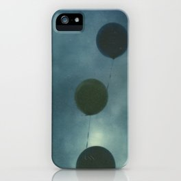 Dark Balloons iPhone Case