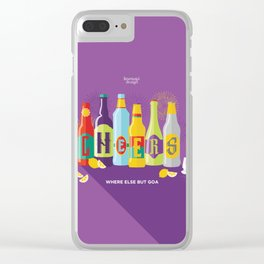 Cheers! Clear iPhone Case
