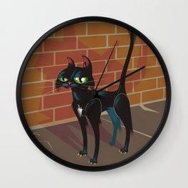 Cat City Wall Clock