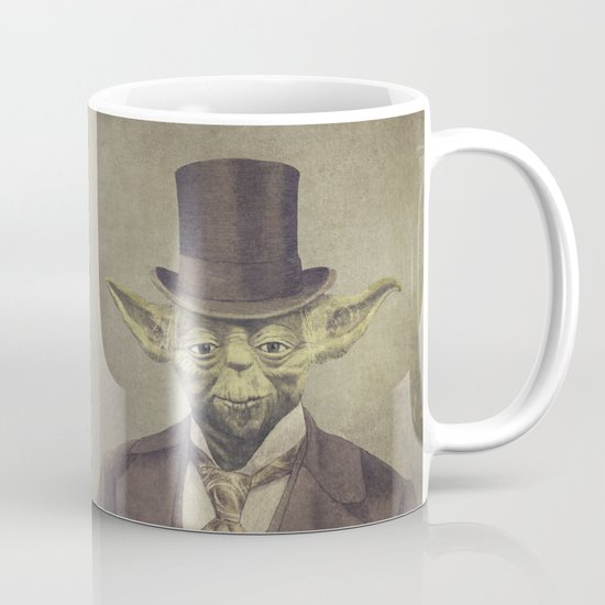 Sir Yodington  - square format Mug