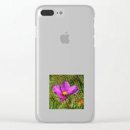 DeepDream Flowers, Wild Flower, DeepDream style Clear iPhone Case