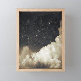 Touch of the moon I Framed Mini Art Print