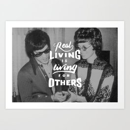 Bruce Says: Real Living Art Print