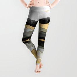 Golden Spring Moon Leggings